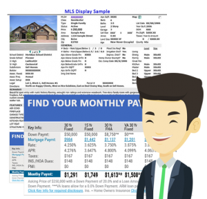 Open house flyer system - mortgage marketing software platform
