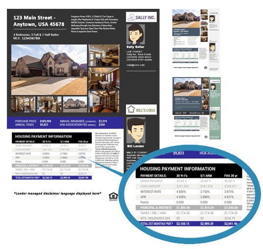 Why Pay For Real Estate Property Flyers? Included With MLS